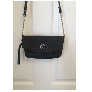 NINE WEST Black Shoulder Cross Body Purse